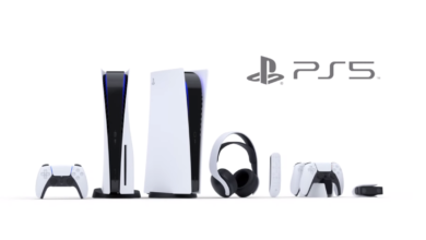 Sony PS5 and peripherals