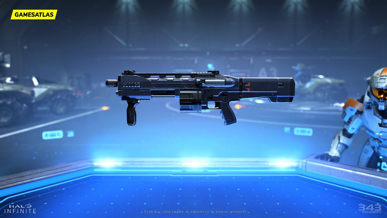 Halo Infinite CSQ48 Bulldog Gun