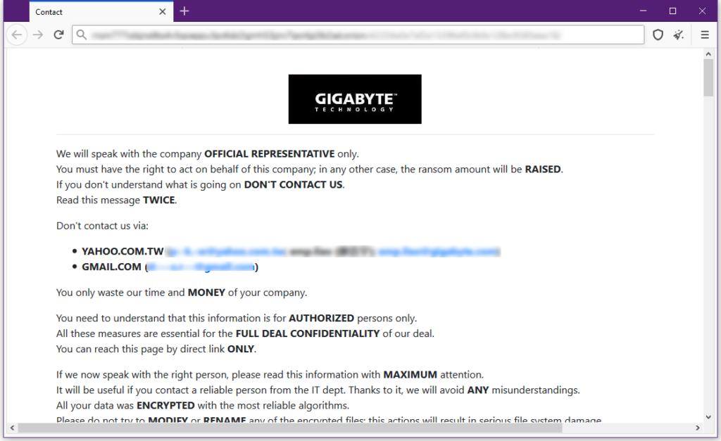 Gigabyte Hack