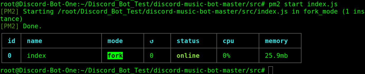 Start Bot With PM2