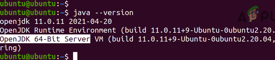OpenJDK 64-Bit Server