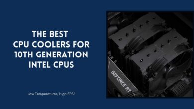 best CPU cooler for 10th generation