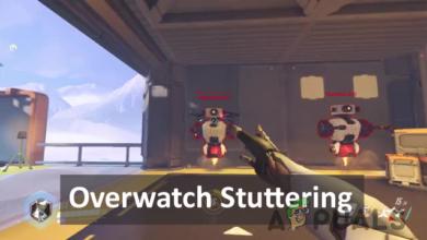 overwatch stuttering problem