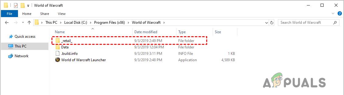WOW51900314 Error