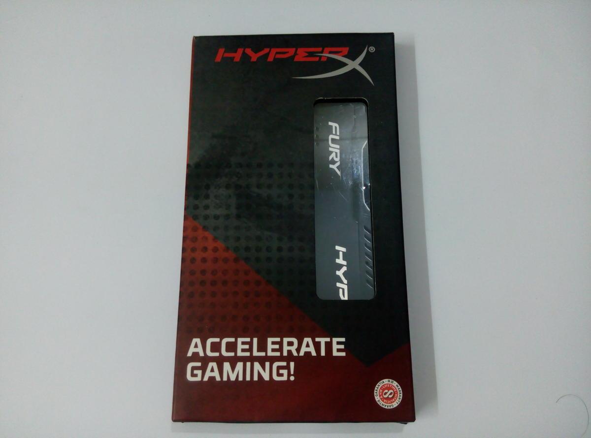 Kingston HyperX Fury 16GB DDR4 2666 (Unboxing)
